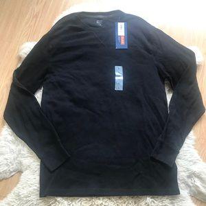 NWT Old Navy Long Sleeve Waffle Knit Shirt